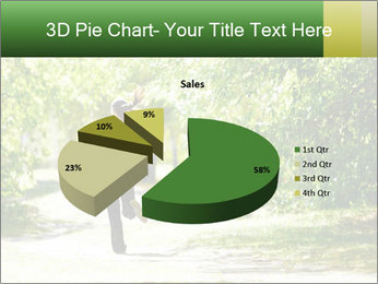 Park along trees PowerPoint Template - Slide 35