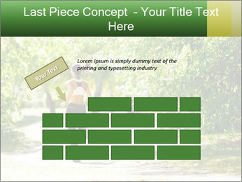 Park along trees PowerPoint Template - Slide 46