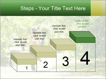 Park along trees PowerPoint Template - Slide 64