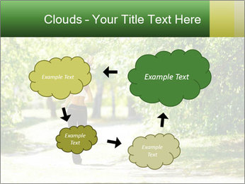 Park along trees PowerPoint Template - Slide 72