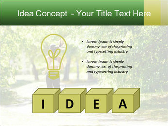 Park along trees PowerPoint Template - Slide 80