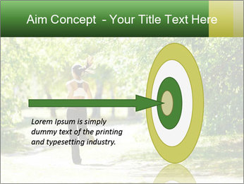Park along trees PowerPoint Template - Slide 83