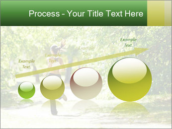 Park along trees PowerPoint Template - Slide 87