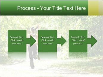 Park along trees PowerPoint Template - Slide 88