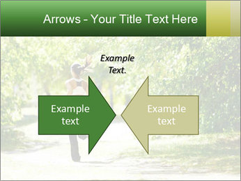 Park along trees PowerPoint Template - Slide 90