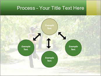 Park along trees PowerPoint Template - Slide 91