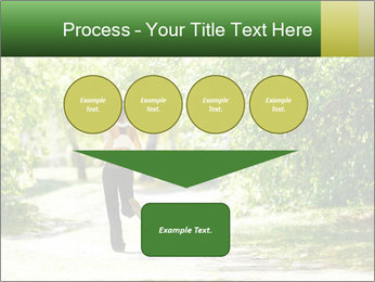Park along trees PowerPoint Template - Slide 93