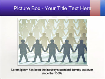 Circle of colorful people PowerPoint Template - Slide 15