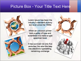 Circle of colorful people PowerPoint Template - Slide 24