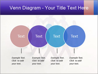 Circle of colorful people PowerPoint Template - Slide 32