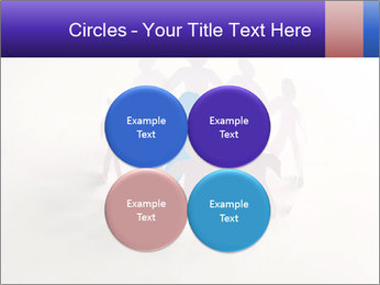 Circle of colorful people PowerPoint Template - Slide 38