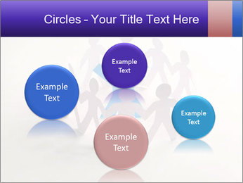 Circle of colorful people PowerPoint Template - Slide 77