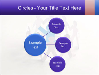 Circle of colorful people PowerPoint Template - Slide 79
