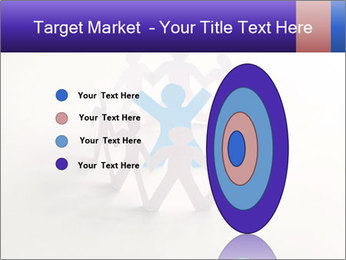 Circle of colorful people PowerPoint Template - Slide 84