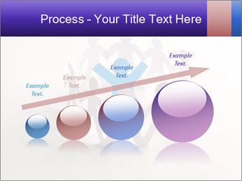 Circle of colorful people PowerPoint Template - Slide 87