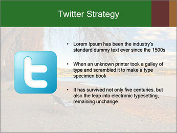Autumn color PowerPoint Template - Slide 9