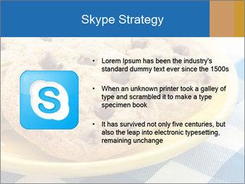 Chocolate chip cookies PowerPoint Template - Slide 8