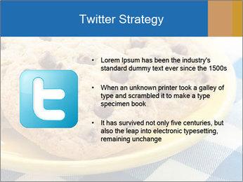 Chocolate chip cookies PowerPoint Template - Slide 9