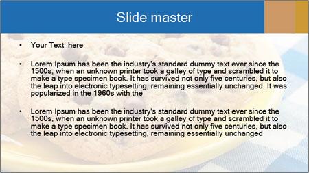 Chocolate chip cookies PowerPoint Template - Slide 2