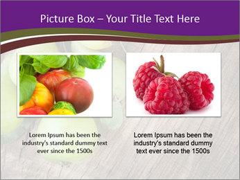 Freshly harvested pears PowerPoint Template - Slide 18