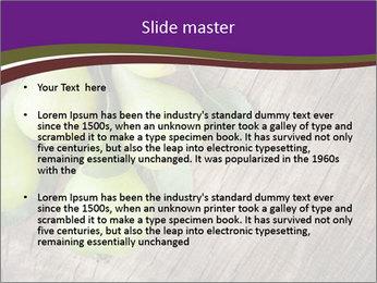 Freshly harvested pears PowerPoint Template - Slide 2