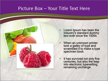 Freshly harvested pears PowerPoint Template - Slide 20