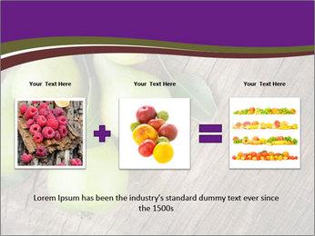 Freshly harvested pears PowerPoint Template - Slide 22