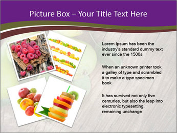 Freshly harvested pears PowerPoint Template - Slide 23