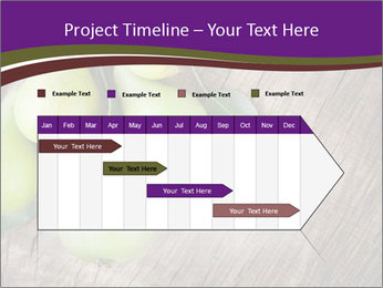 Freshly harvested pears PowerPoint Template - Slide 25