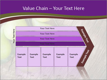Freshly harvested pears PowerPoint Template - Slide 27