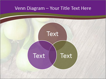 Freshly harvested pears PowerPoint Template - Slide 33