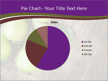 Freshly harvested pears PowerPoint Template - Slide 36