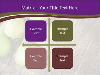 Freshly harvested pears PowerPoint Template - Slide 37