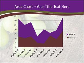 Freshly harvested pears PowerPoint Template - Slide 53