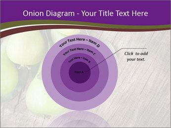 Freshly harvested pears PowerPoint Template - Slide 61