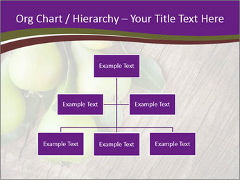 Freshly harvested pears PowerPoint Template - Slide 66