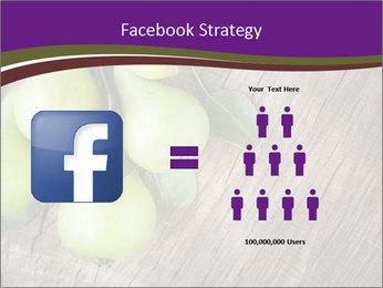 Freshly harvested pears PowerPoint Template - Slide 7