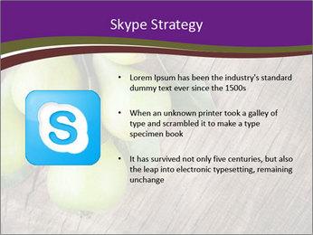 Freshly harvested pears PowerPoint Template - Slide 8