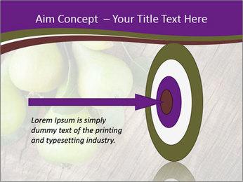 Freshly harvested pears PowerPoint Template - Slide 83
