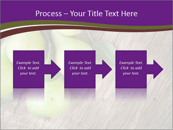 Freshly harvested pears PowerPoint Template - Slide 88