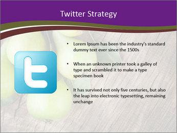 Freshly harvested pears PowerPoint Template - Slide 9