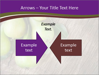 Freshly harvested pears PowerPoint Template - Slide 90