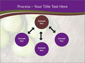 Freshly harvested pears PowerPoint Template - Slide 91
