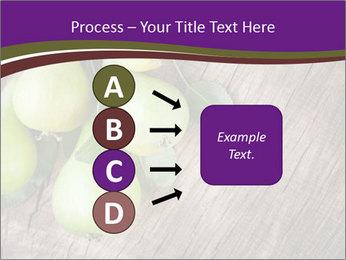 Freshly harvested pears PowerPoint Template - Slide 94