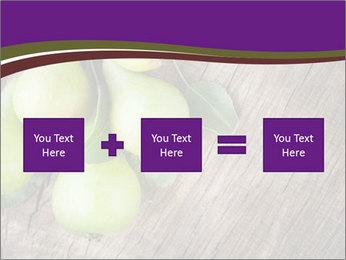 Freshly harvested pears PowerPoint Template - Slide 95