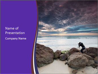 Beautiful seascape PowerPoint Templates - Slide 1