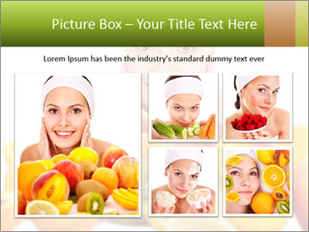 Natural homemade fruit PowerPoint Template - Slide 19