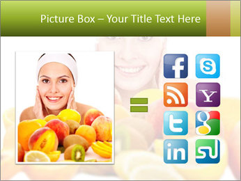 Natural homemade fruit PowerPoint Template - Slide 21