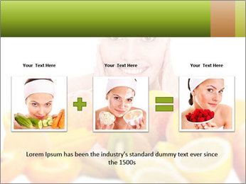Natural homemade fruit PowerPoint Template - Slide 22