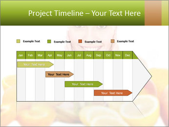 Natural homemade fruit PowerPoint Template - Slide 25